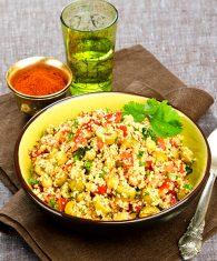 Salade de couscous coriandre