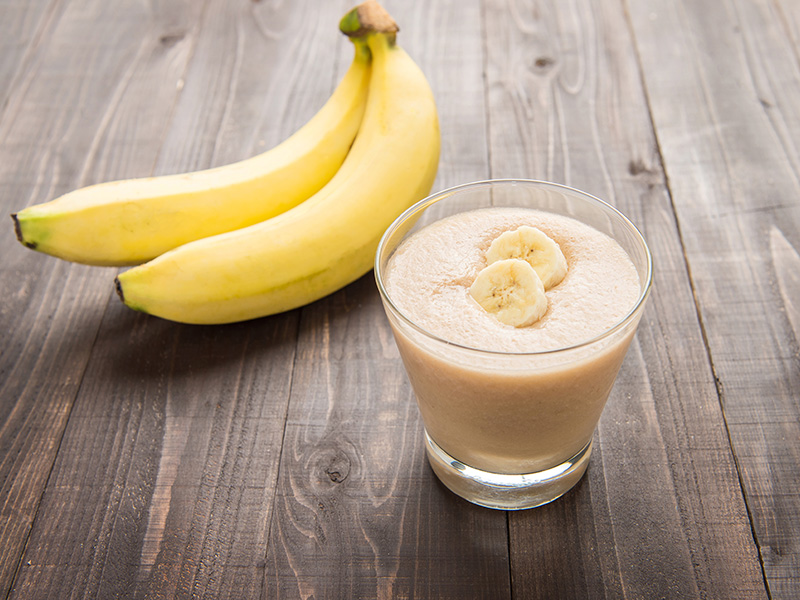 smoothie de banana